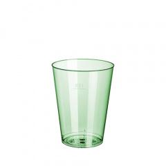 15 Trinkbecher, PS 0,2 l Ø 7,5 cm 9,7 cm hellgrün
