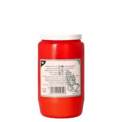 Kompositions-Öl-Licht T3 Ø 5,8 cm 9,6 cm rote Hülle