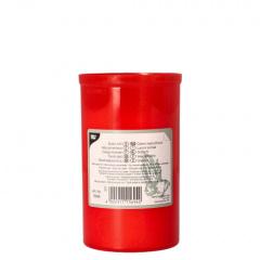 Grablicht T3 Ø 6,4 cm 10 cm rote Hülle ohne Deckel
