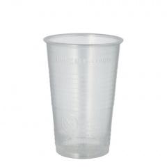 100 Trinkbecher, PP 0,3 l Ø 7,8 cm 11,3 cm transparent