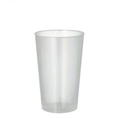 25 Trinkbecher, PP 0,3 l Ø 7,8 cm 11,8 cm transluzent unzerbrechlich