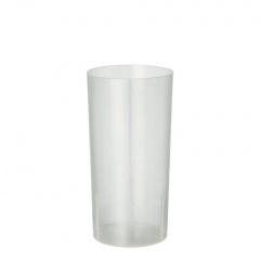 10 Gläser für Longdrinks, PP 0,2 l Ø 5,5 cm 10,9 cm transluzent unzerbrechlich