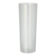 10 Gläser für Longdrinks, PP 0,3 l Ø 5,85 cm 15,2 cm transluzent unzerbrechlich