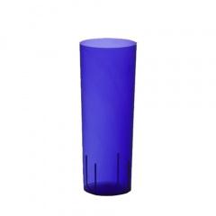 10 Gläser für Longdrinks, PS 0,3 l Ø 5,85 cm 15,2 cm blau