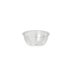 100 Dressingschalen, PS rund 50 ml Ø 6,7 cm 2,7 cm klar
