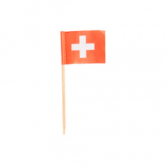 100 Deko-Picker 8 cm -Schweiz-