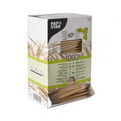 1000 Zahnstocher, Holz gehüllt rund 6,6 cm mit Menthol