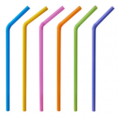 500 Shake-Halme, flexibel Ø 8 mm 25 cm farbig sortiert