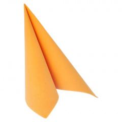 20 Servietten -ROYAL Collection- 1/4-Falz 40 cm x 40 cm orange