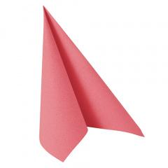 20 Servietten -ROYAL Collection- 1/4-Falz 40 cm x 40 cm rosa
