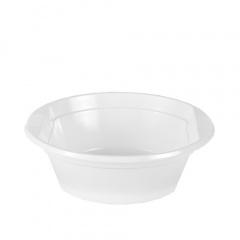 20 Suppenschalen, PS -Economy- rund 500 ml Ø 15,8 cm 5,3 cm weiss mit Anfasser