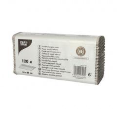 120 Blatt Handtuchpapier 50 cm x 25 cm grau 1-lagig