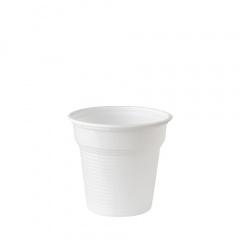 50 Trinkbecher, PS 0,08 l Ø 5,75 cm 5,3 cm weiss