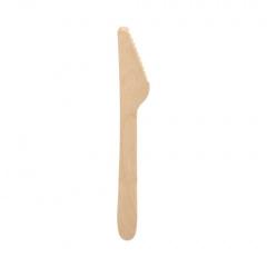 100 Messer, Holz -pure- 16,5 cm
