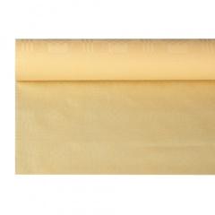 Papiertischtuch mit Damastprägung 8 m x 1,2 m creme