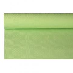 Papiertischtuch mit Damastprägung 8 m x 1,2 m pastellgrün