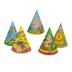 5 Hütchen -Happy Birthday-