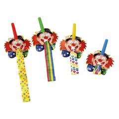 4 Partyrüssel -Clowngesicht-