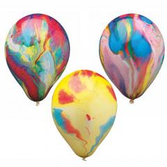 8 Luftballons Ø 22 cm -Multicolour-
