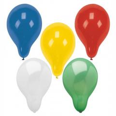 8 Luftballons Ø 32 cm farbig sortiert