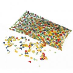 Konfetti, Papier farbig sortiert 100 gr.