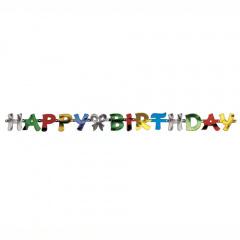 Grußkette 1,4 m -Happy Birthday-