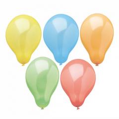 10 Luftballons Ø 22 cm farbig sortiert -Rainbow-