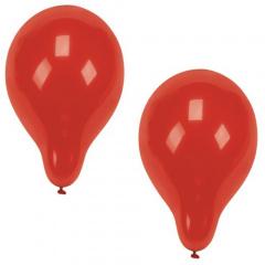 100 Luftballons Ø 25 cm rot