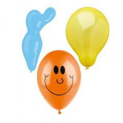 150 Luftballons farbig sortiert -verschiedene Formen-