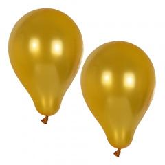 10 Luftballons Ø 25 cm gold