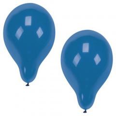 10 Luftballons Ø 25 cm blau