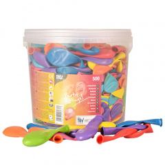 500 Luftballons Ø 22 cm farbig sortiert in Dose
