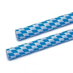 Krepp-Papier 10 m x 50 cm -Bayrisch Blau- schwer entflammbar auf Rolle