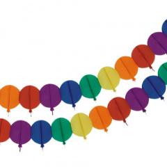 Motiv-Girlande 4 m -Balloon-