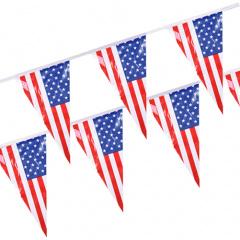 Wimpelkette, Folie 4 m -America- wetterfest