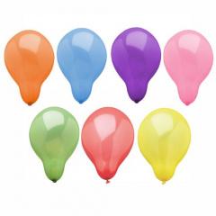 25 Luftballons Ø 22 cm farbig sortiert