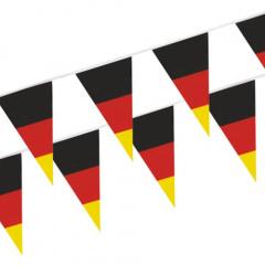 Wimpelkette, Folie 4 m -Germany- wetterfest Deutschland WM