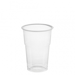 50 Trinkbecher -Hurricane-, PET 0,25 l Ø 7,8 cm 10,8 cm glasklar
