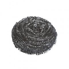 8 Spiraltopfreiniger, Edelstahl rund Ø 7,5 cm 6 cm
