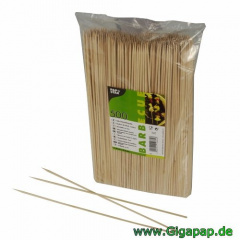 10 000 Schaschlikspieße, Holz Ø 3 mm 30 cm- Karton