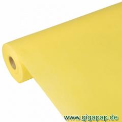 Tischdecke gelb 40m x 1,18m stoffähnlich, Vlies