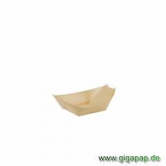 50 Fingerfood - Schalen, Holz 8,5 cm x 5,5 cm