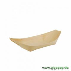 50 Fingerfood - Schalen, Holz 19 cm x 10 cm