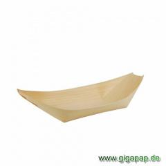 50 Fingerfood - Schalen, Holz 21,5 cm x 10 cm