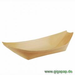 50 Fingerfood - Schalen, Holz 25 cm x 10 cm