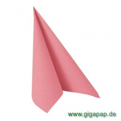 50 Servietten -ROYAL Collection- 1/4-Falz 40 cm x 40 cm rosa
