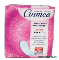 Cosmea® Comfort Plus Maxi Binden mit 3D Kern Normal 22 Stück