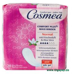 Cosmea® Comfort Plus Maxi Binden Normal mit Frischeduft 20 Stück