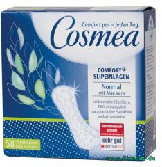 Cosmea® Slipeinlagen Normal mit Aloe Vera 58 Stück