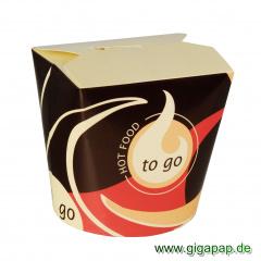 50 Snackboxen -To Go- eckig 750 ml 10,1 cm x 10 cm x 9,1 cm